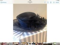 Navy special occasion hat