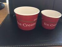Ice Cream Tubs 100 & 200ml