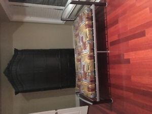 Junior bed with mattress $250.