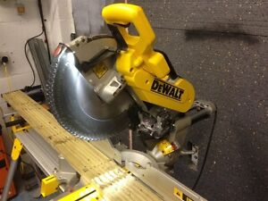 "Used DeWalt 12"" Dual Bevel Compound Miter Saw in Great Condition"