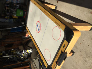 WOODEN AIR HOCKEY TABLE - PICK UP IN PICKERING