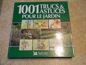 Livre 1001 trucs et astuces pour le jardin