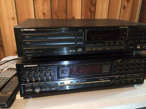 Pioneer receiver and disc player