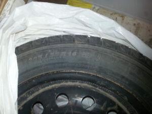 Pneus d'hiver usagés 205/55 R16 Michelin X-Ice