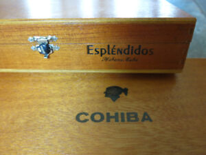 Cohiba Esp Wooden Cigar Boxes