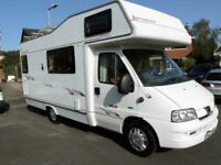 Elddis Autoquest 160 6 berth bunk beds coachbuilt motorhome for sale Ref 135988