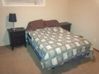 Airdrie Lower Level bedroom & Area for rent in Executive Home