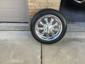 All Season Tires and Custom Rims