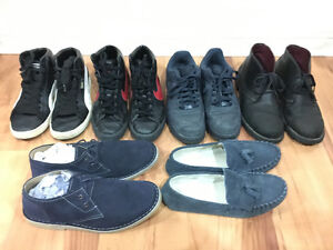 Nike, Puma, Clarks, Frank Wright (Sneakers, Boots, Loafers)