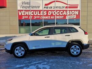 Jeep Cherokee FWD 4dr Sport+GROUPE TEMP FROID 2016