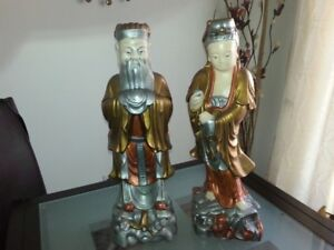 Statues chinoises