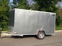 Lightning - All Aluminum 2011 6x12 V-Nose Enclosed Cargo Trailer