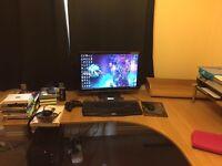 Ikea Oak Corner Desk with extension (Galant)