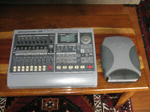 Roland VS-880EX with CD burner