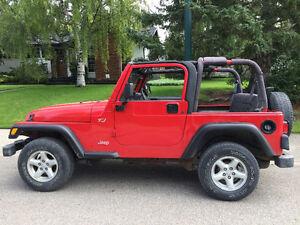 2002 Jeep TJ Wrangler