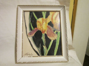 Small Original Water Color Painting from 1971