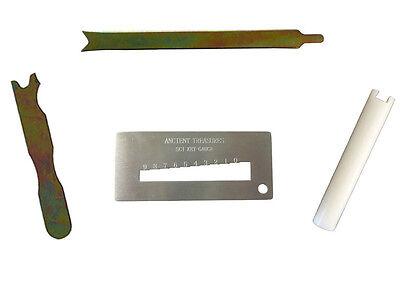 Schlage Rekey Cylinder Removal Key Gauge Decoder Clamp Follower Tool
