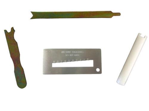 Schlage Rekey Cylinder Removal, Key Gauge Decoder, Clamp, Follower Tool