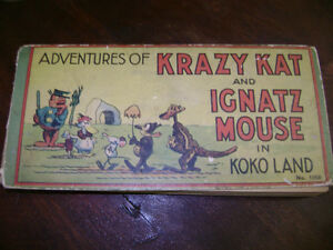 Krazy Kat cartoon book London Ontario image 1