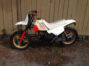 Yamaha PW 50 runs great have owned it for 12 years Always used Y