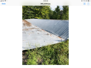 Roof or wall siding