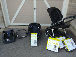 Snugli Stroller with Infant Car Seat