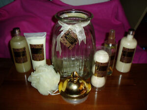 Secret Desire Beauty Gift Set In Glass Canister New