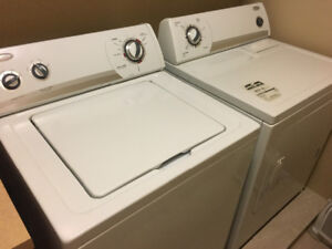 Whirlpool washer and drayer