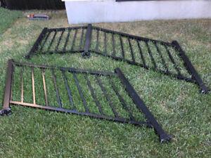 Black Aluminum Railing