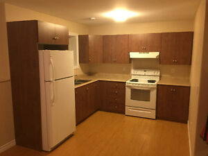 Available now - 2 bedroom basement apartment