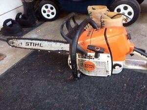 Stihl MS461 chainsaw