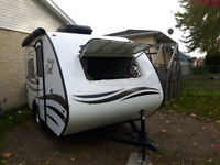 Camping Trailer with AC for Rent $65/night +tax, insurance