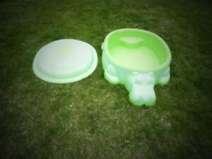 "1 – STARPLAY ""CLASSIC"" GREEN HIPPO SANDBOX or POOL."