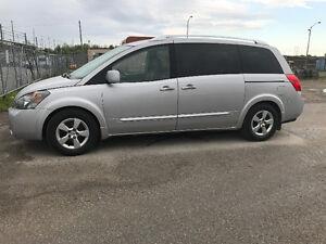 2007 Nissan Quest Grey Minivan, Van