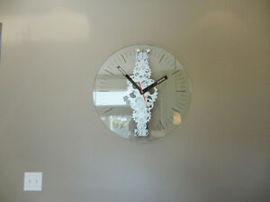 "Oversized 24"" Diameter Moving Gear Clock w/ Glass Face Kitchener / Waterloo Kitchener Area image 4"