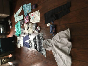 Bnwt Girl size 4 clothes lot