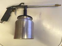 Spray Gun (un-used) and air blow off gun