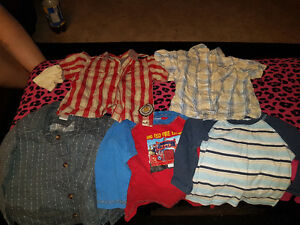 Huge lot of boys sz 12-24 clothing lots of brand names