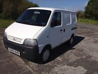 Suzuki carry twin side loading doors