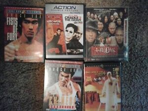 6 movies - 5 DVDs - Bruce Lee, Donnie Yen, Jet Li - Bundle