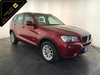 2012 62 BMW X3 XDRIVE20D SE AUTO DIESEL 4WD 1 OWNER SERVICE HISTORY FINANCE PX