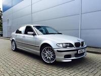2002 52 Reg BMW 325 i M Sport Saloon Silver + NICE SPEC