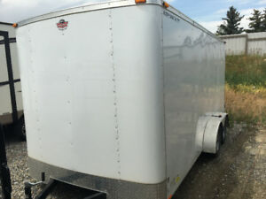 CARGO TRAILER EXTRA HIEGHT 1 YEAR OLD