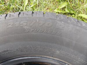 Michelin Tires  P215 70R15 Cambridge Kitchener Area image 3