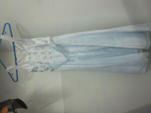 Party Dress Girl's Size 13-14 Pale Blue