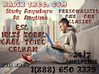 TOEFL Test Prep/ IELTS Tutoring/ Math Tutors/ Home work Help!!!