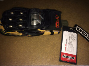 Icon TiMax TRX Short Gloves - Small
