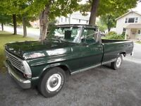 1967 Ford F100 REDUCED PRICE Now Only $11,000
