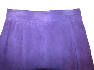 DANIER Leather Purple Suede Skirt Gatineau Ottawa / Gatineau Area image 2