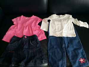 18 months Girls Jeans and Skirt Lot - Excellent Condition